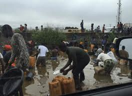 Ruptured pipeline: NEMA advises residents to stop scooping diesel
