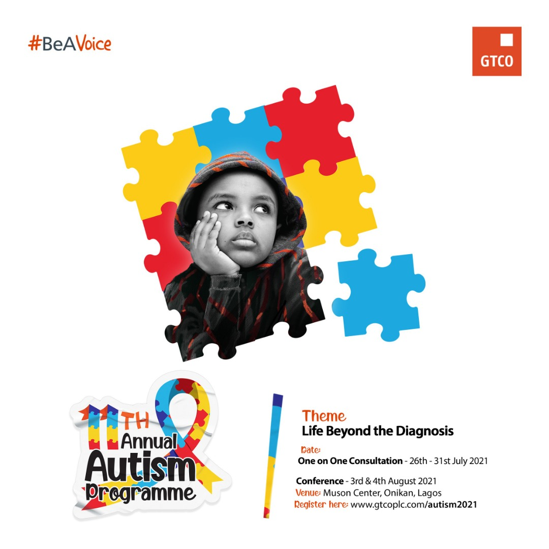 Guaranty Trust Annual Autism Conference Holds August 3-4 at Muson Centre,  Lagos   Naija247news
