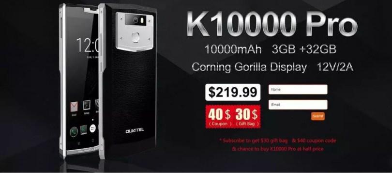 oukitel k10000 pro subscribe