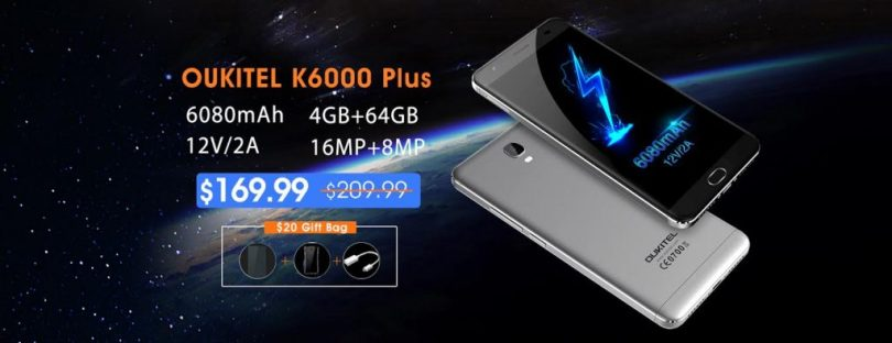 oukitel k6000 plus flash sale