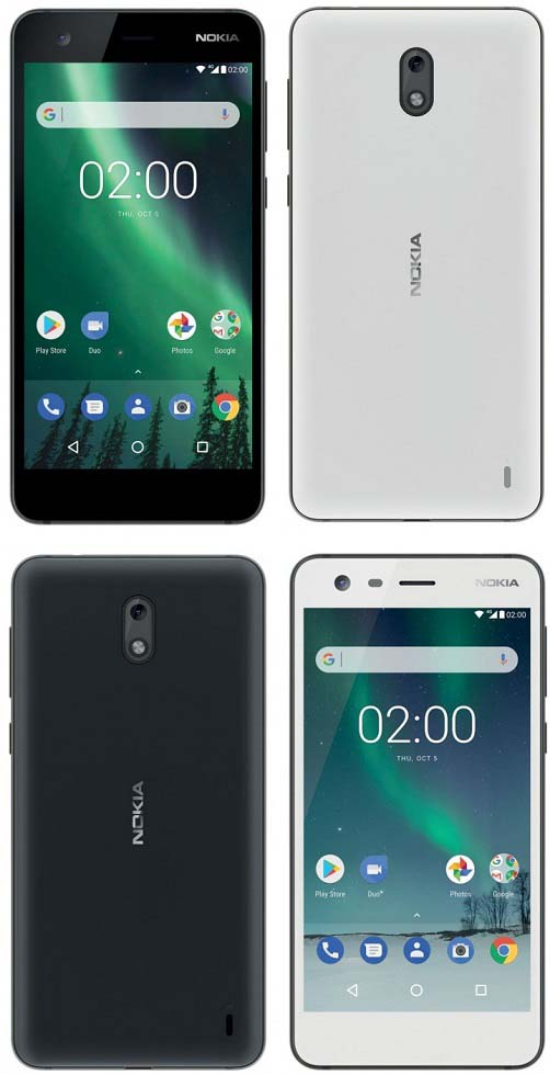 Nokia 2 spotted in Black & White colors with a software ...