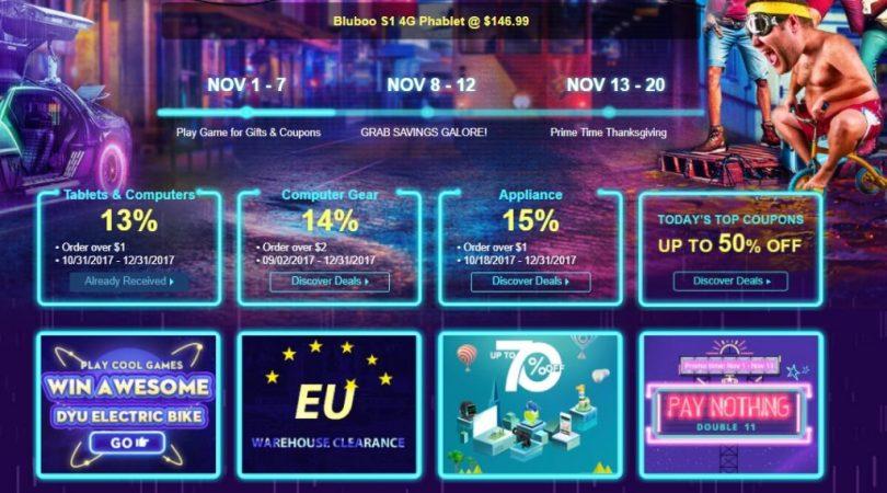 gearbest 11.11 flash sales