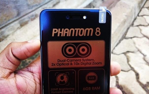 tecno phantom 8 camera