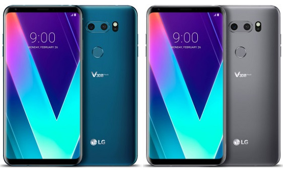 lg v30s thinq colors