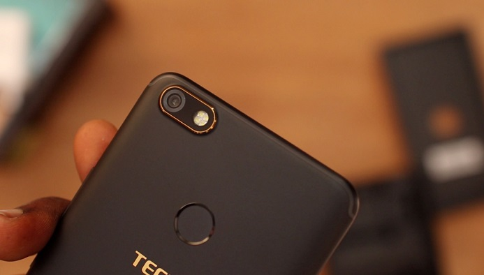 tecno camon x back camera