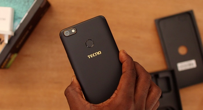 tecno camon x back side