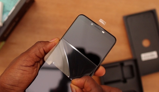 tecno camon x screen reveal