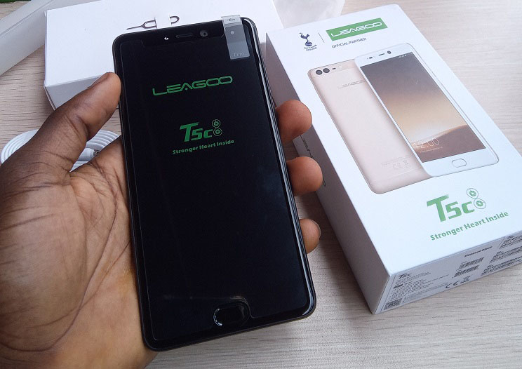 leagoo t5c full screen