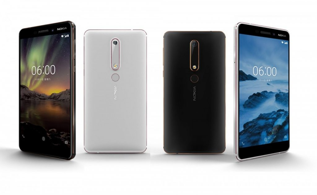 Nokia 6 (2018) 4GB RAM variant launched in India for Rs. 18999