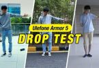 ulefone armor 5 drop test