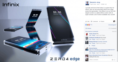 infinix zero 4 edge coming soon2
