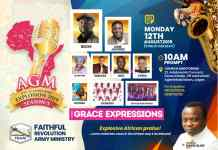 Event: Make plans to attend African Gospel Music Explosion 2019