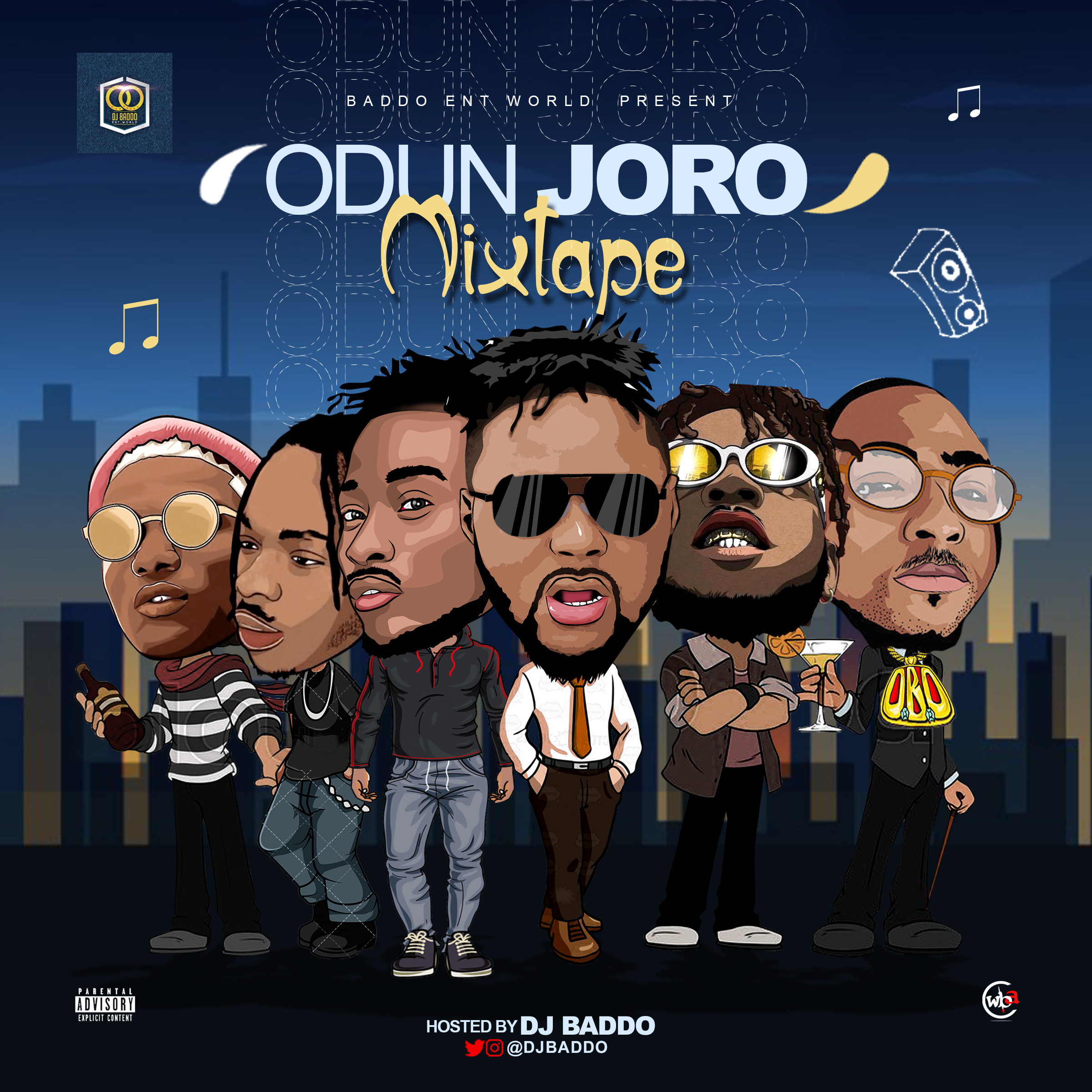 Dj Baddo - Odun Joro Mix Mp3 Download