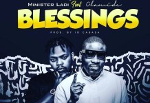 Minister Ladi Ft. Olamide – Blessings Mp3 Download