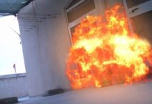 Gas Explodes At Big Brother's Kitchen