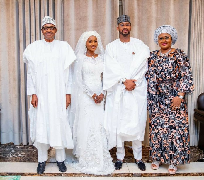 Checkout Photos from the wedding of President Buhari's daughter, Hanan