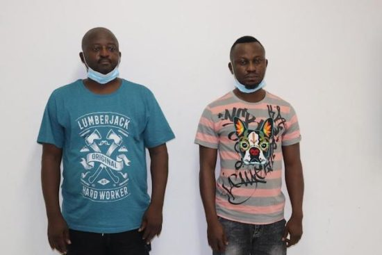 Two Nigerians nabbed for stealing €2.388 million from German state