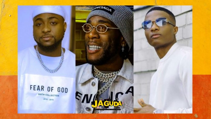 Burna Boy, Davido, Wizkid & Others Make Afrimma 2020 Nominees