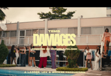 Tems Damages Video mp4 download
