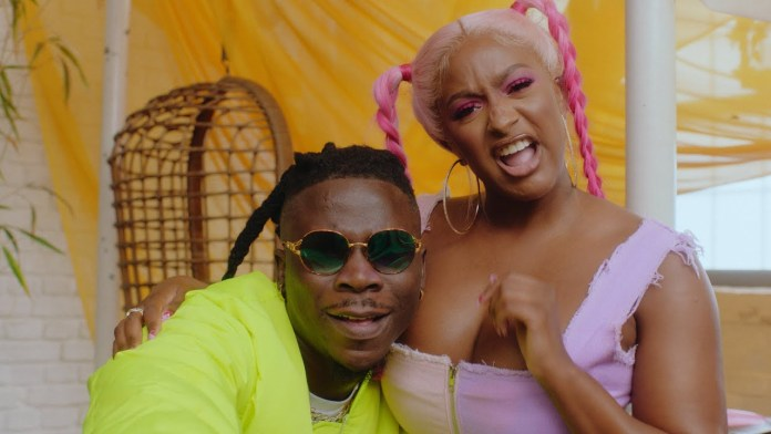 Cuppy feat Stonebwoy Karma Video mp4 download