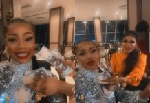Bobrisky Spoils Tacha With Money On Her 25th Birthday