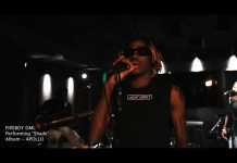 Fireboy DML Shade Live Performance Video mp4 download
