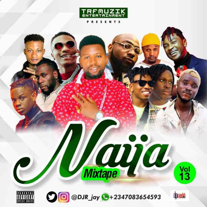 Ace DJ R-Jay Naija Mix Vol 13 mp3 download