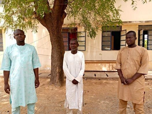 3 men arrested for insulting buhari