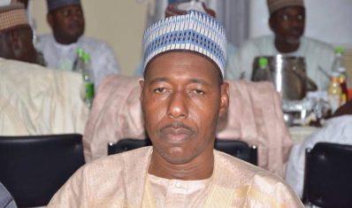 Governor of Borno State Babagana Umara Zulum