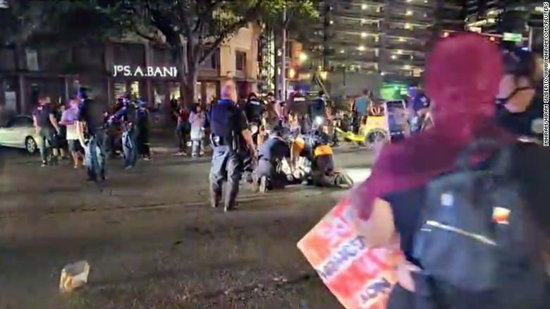 Black Lives Matter protest in Austin