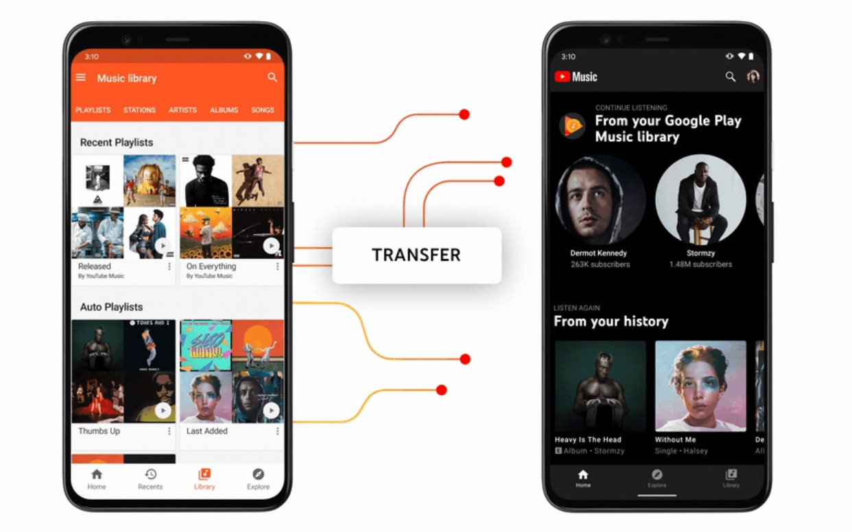 Google Play music shutting down in December, replaced by YouTube Music
