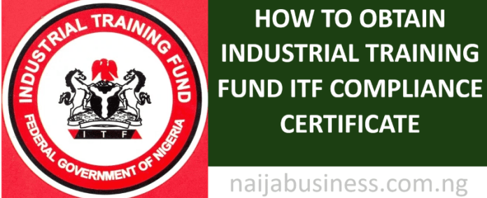 Industrial Training Fund ITF Compliance Certificate