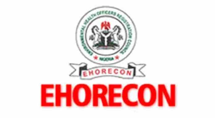 Environmental Health Officers Registration Council of Nigeria - EHORECON