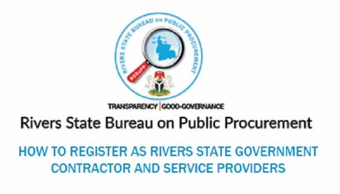 Rivers State Government Contractor and Service Providers Registration