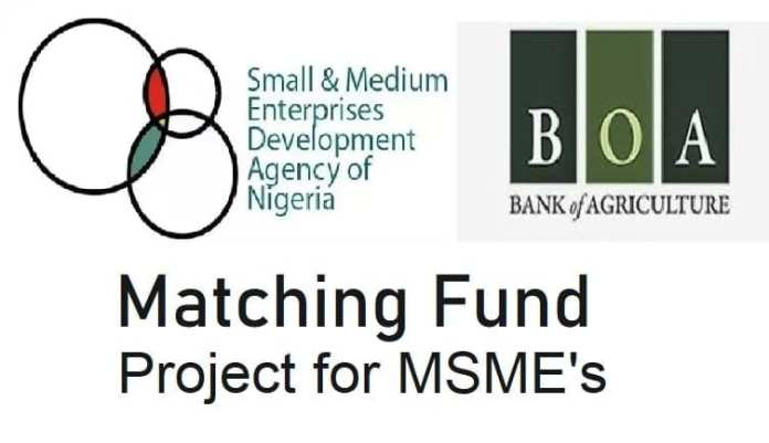 SMEDAN-BOA Matching Fund