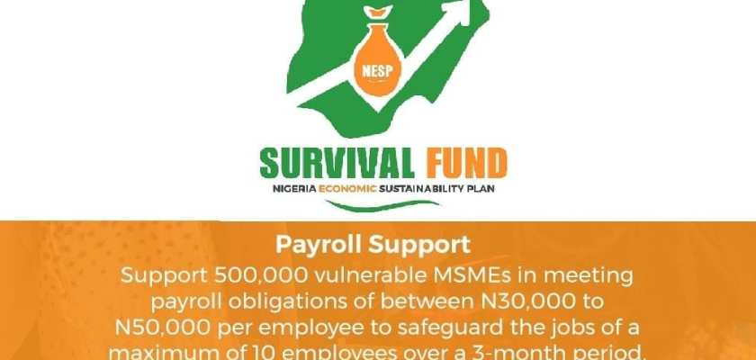 MSME Survival Fund Payroll Support