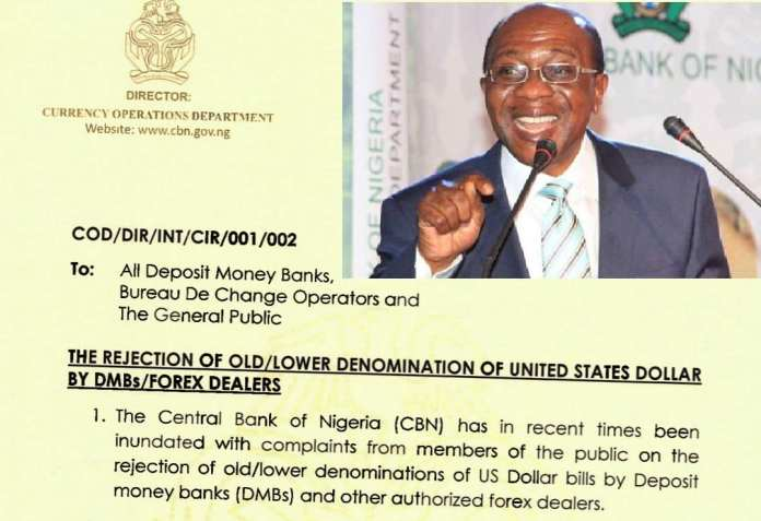 CBN Flays Banks FX Dealers