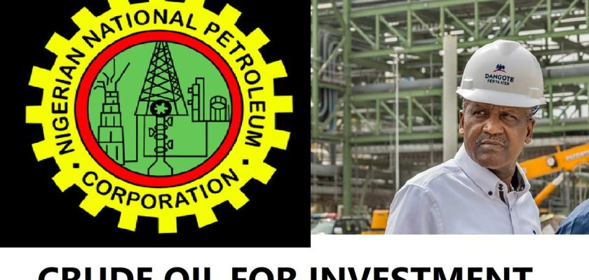 Nnpc Investment In Dangote Refinery Crude Supply