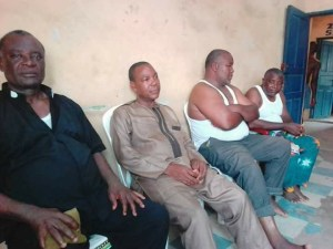Photo Of Men Locked Up For Protesting Against Fulani Killings In Benue State