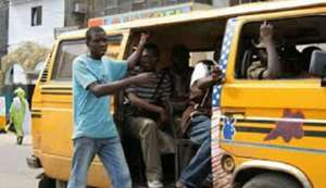 Revealed! 5 Annoying Things People Do With Their Phone In Danfo Buses