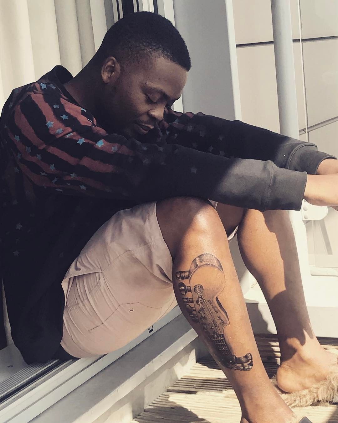#Baddosneh: Olamide Gets Second Tattoo 7months After getting 1st Tattoo, See Photos