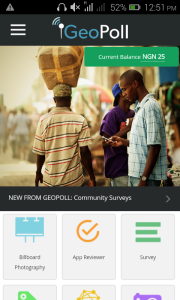 Did You Know? You Can Earn Cash/Airtime With Your Phone Using 'GeoPoll' Mobile App