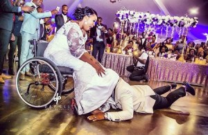 So Touching: See Heart-warming Wedding Photos of a Beautiful Lady on a Wheelchair (Photos)