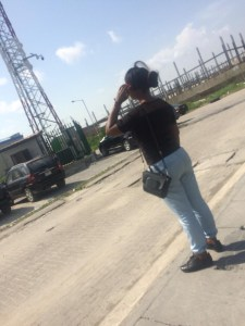 Man Flogs His Wife With Belt For Slapping His Side Chic At Filmhouse Lekki ()