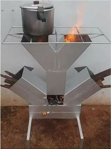 Check Out New Firewood Cooking Stove Invented In Nigeria (Photo)