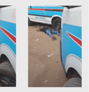 Opps; Man Faints At Car Park After Taking Tramadol For The 1st Time In Onitsha (Pics)