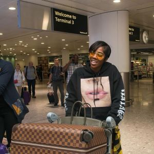 Tiwa Savage Joins Wizkid In London, Hangs Out Awilo Longomba (Photos, Video)