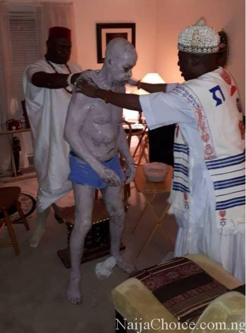 Nigerian Man Made King In USA After Undergoing Spiritual Cleansing (Photos)