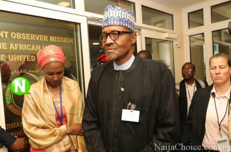 Photos Of US Female Secret Service Agent Protecting Buhari At UNGA73 Taking Place In New York (Photos)