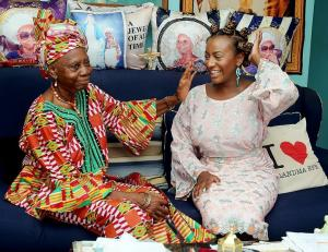 "Checkout This Lovely Photo Of DJ Cuppy and her ""Grandma Epe"""